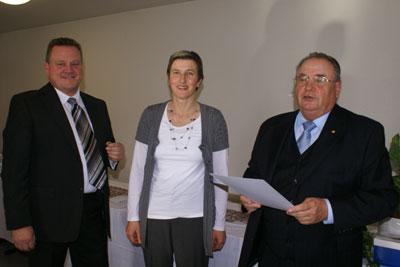 Der Vorsitzende der DJK Unterbalbach, Stefan Kolb nahm die Ehrungen vor