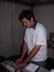 Der DJ Christian Faul