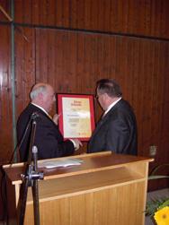 Stefan Kolb und der Vorsitzende Sportkreises Tauberbischofsheim