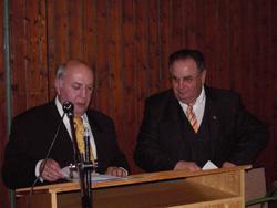 Stefan Kolb und der Vorsitzende des Sportkreis Tauberbischofsheim