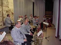 Die Musikkapelle sorgte für den musikalischen Rahmen