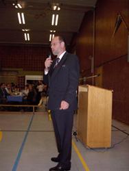 Günter Pfeiffer führte durch das Programm