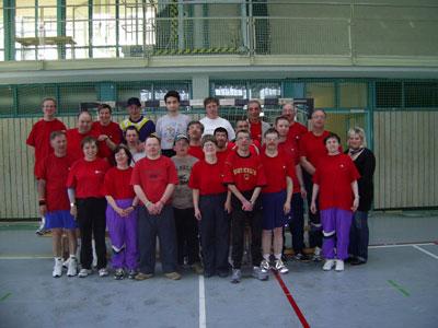 Die Teilnehmer an den Badischen Kegelmeisterschaften 2010
