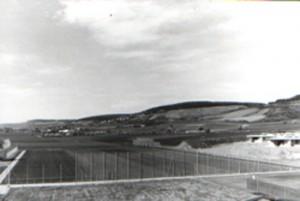 Der neue Sportplatz der DJK Unterbalbach im Jahr 1986