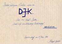 Protokoll zum Auflösen der DJK Unterbalbach