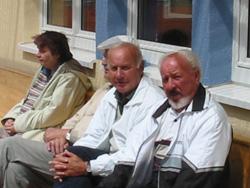 Auch bei den Tennisstadtmeisterschaften waren fachkundige Beobachter