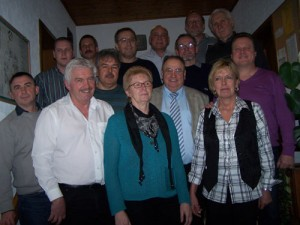 Die Vorstandschaft der DJK Unterbalbach