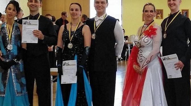 Markus und Astrid Sommer: Turniersieg in Würzburg